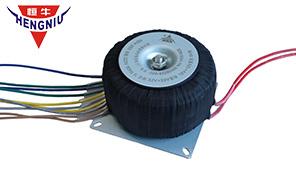 崇州恒达铝线环形变压器批量应用在功放电源上